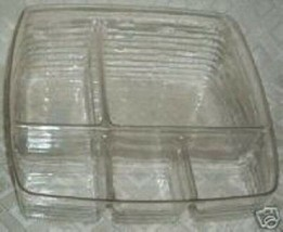 Longaberger Small Bin Basket 5 Way Divided Plastic Protector Only New Au... - $14.80