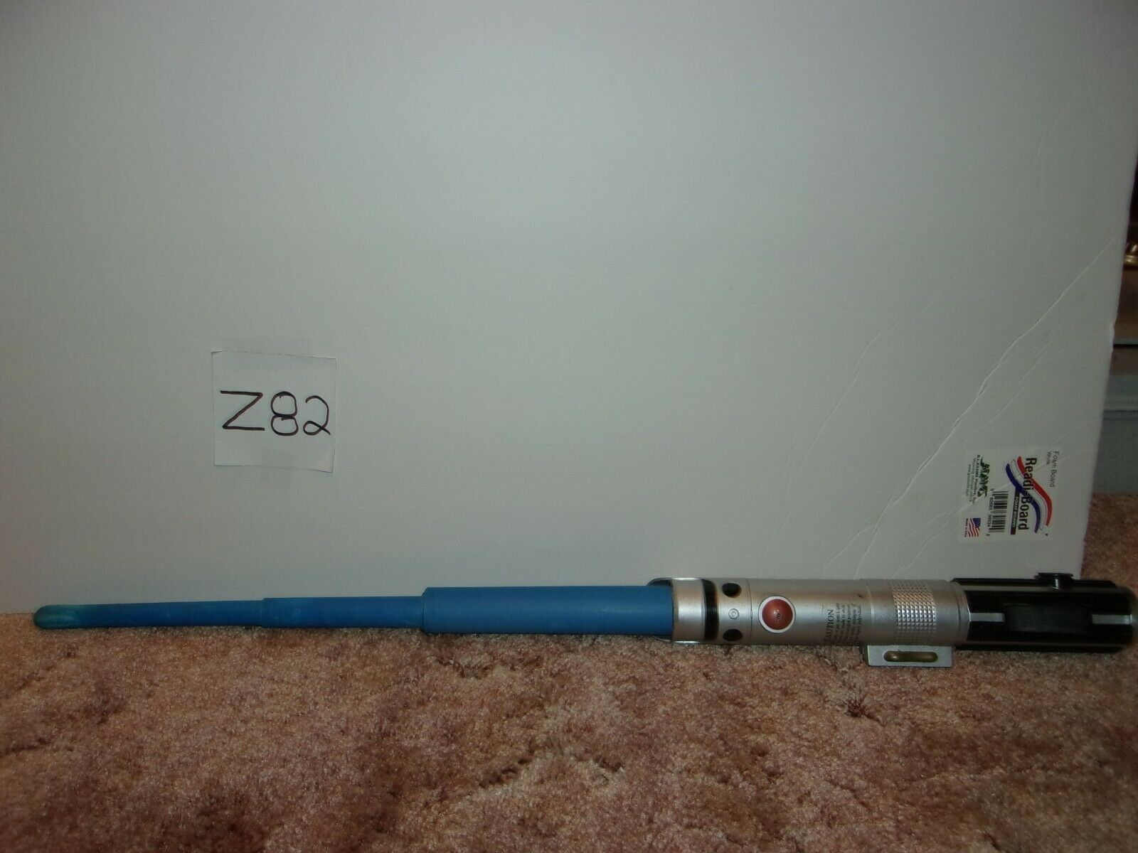 "Primary image for Star Wars 33"" telescoping Lightsabers Blue  Hasbro  2012"