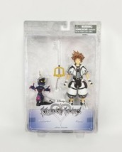 Disney Kingdom Hearts - Sora & Soldier Action Figures Set Rare Ages 8+  - $27.71