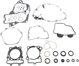 Moose Racing Complete Gasket Kit with Oil Seals for 2016-2017 Suzuki RMZ 250 - $125.95