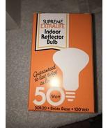 SUPREME EXTRALIFE Reflector Indoor Bulb 50W 130V - $5.87