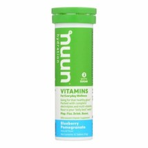 Nuun Vitamins Drink Tab - Blueberry - Pomgrant - Case Of 8 - 12 Tab - $56.96