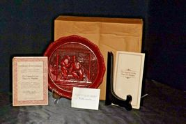 """The Betrayal""""  Commemorative Plate by The Ming Dynasty AA20-CP2335 Vintage Calho image 4"""