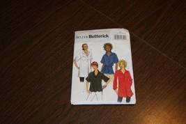 Butterick Womens Blouse Patterns Sewing Pattern Sz L B5218 AS IS 2008 - $7.84