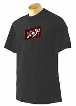 Schlitz Beer Black T-shirts Navy Gold Cardinal Red Adult Medium to 5XL - £12.29 GBP+