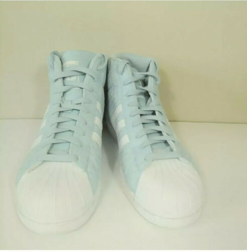 Adidas Pro Model Woven Shoes BY4169 Icey Blue/Running White- Size 11  Shell toe image 6