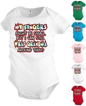 Grandma Funny Baby Bodysuit Infant toddler Creeper Shower party Gift KP316 - $12.99