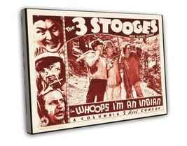 The Three Stooges in Whoops, I'm an Indian! 1936 Vintage Movie FRAMED CA... - $19.95 - $39.95
