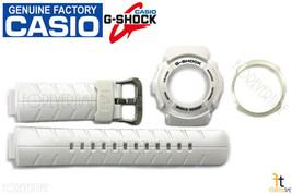 CASIO G-300LV-7A G-Shock White BAND & BEZEL (Outer & Inner Bezel) Combo Kit - $69.95