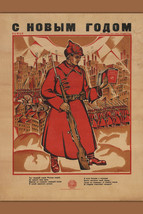 Bolshevik Poster; Antique Russian Poster ca. 1918; Fine Reproduction - $26.72+