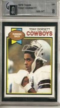 1979 Topps #160 Tony Dorsett Gai 8 Nm Mt 2ND Year - $22.28