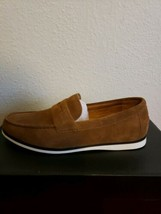 Alfani Men's Sawyer Slip-On Loafers, Created for Macy's, MED BROWN - US 8 M - $44.55