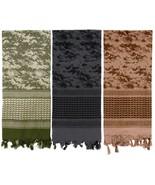 Digital Camouflage Heavyweight Arab Desert Tactical Army Shemagh Keffiye... - $11.99+