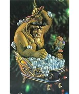 Beast from Beauty and  the Beast Disney Ornament In Ordinal Box - $49.99