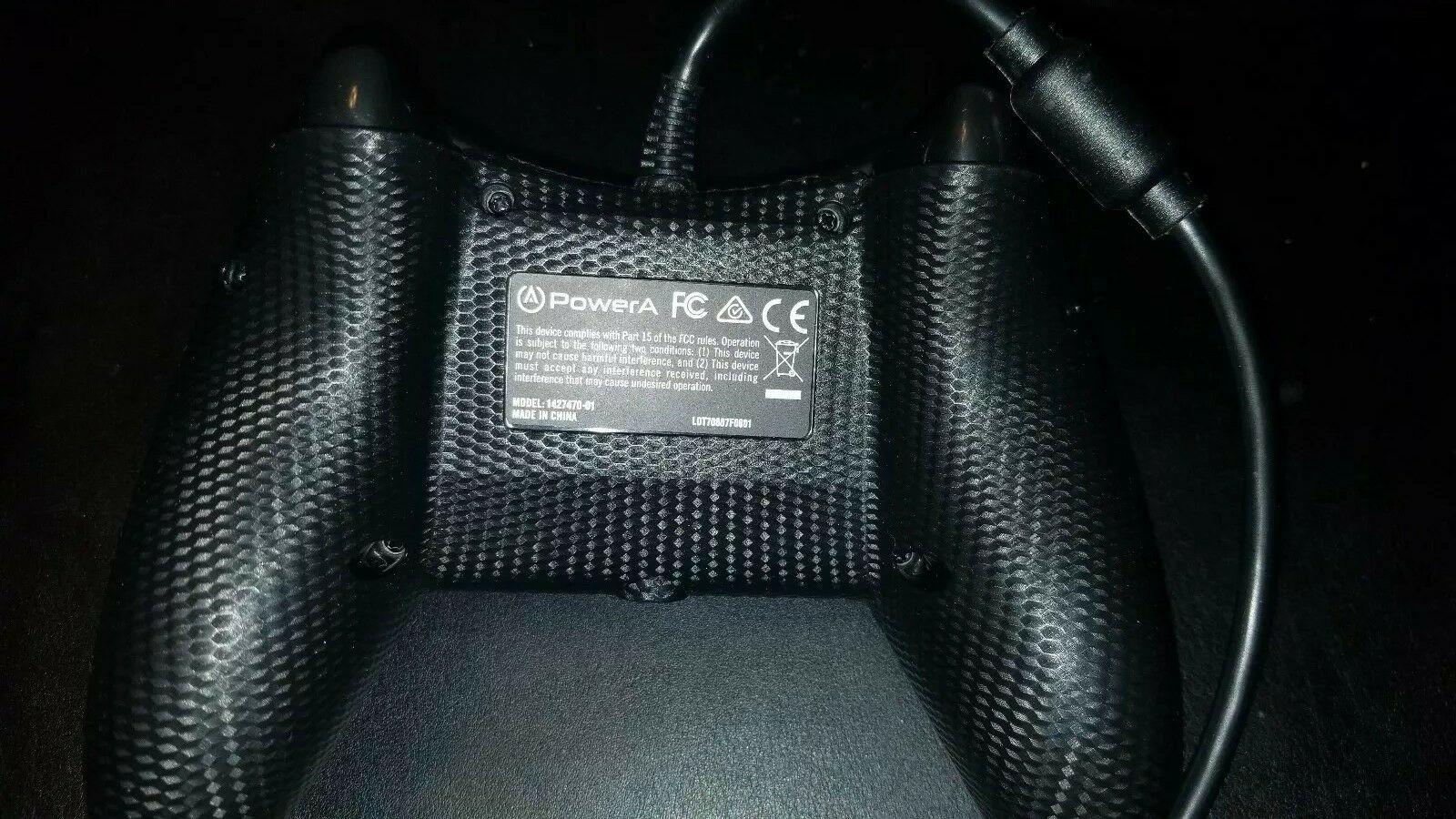 Genuine POWER A Xbox One & Windows Wired Controller Black 1427470-01