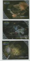 GREATEST SPACE BATTLES 1999 FLEER/SKYBOX STAR TREK DEEP SPACE NINE-LOT OF 5 - $6.79