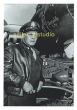 FRANK OVERTON Major Stovall 12 O'clock High RARE 4x6 PHOTO MINT CONDITIO... - $11.83