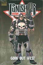 Punisher War Journal Goin Out West Hardcover HC Sealed! - $20.00
