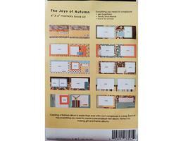 "S.E.I. Scrapbook in a Bag, Paisley & Petals, an Autumn 4"" x 6"" Memory Book Kit image 2"