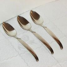 Rogers Bros Flair Silverplate Grapefruit Spoon 3 International Silver Spoons - $19.79