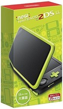 Nintendo 2DS LL Console System Black x Lime JAPAN import Japanese game  NEW - $197.01
