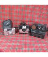Lot 3 Cameras Pentax Efina, Imperial Mark XII, Polaroid Pronto SE Land C... - $17.75