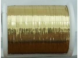 Coats & Clarks Glitz Metallic Foil Decorative Thread, Gold #801