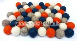 2 cm Felt Balls.100% Wool Pom Pom Nursery garla... - $13.98 - $88.83