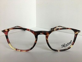 New Persol 3124-V 1059 Tortoise 48 mm Rx Men's Eyeglasses Frame Hand Made Italy - $149.99