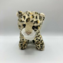 """Ty Classic Leopard Cub Plush Cleopatra 2007 Spotted Cat Golden Eyes 11"""" - $13.85"""