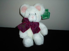 Russ Berrie Tic Toc Mouse Plush 101334 Handmade Tags - $67.54