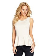 Guess By Marciano MADISON PEPLUM TOP - $142.16 CAD