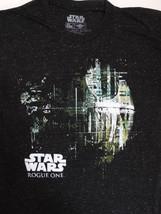 Star Wars Rogue One Movie Dripping Death Star Confetti T-Shirt - $12.00