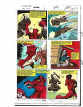 Red Sonja 3 page 15 original 1983 Marvel Comics color guide comic art: 1... - $24.75