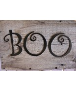 BOO METAL WALL ART/PUMPKIN ART/HALLOWEEN DECOR - $9.99