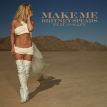 BRITNEY SPEARS (MAKE ME)  POSTER 24 X 24 Inches Looks great - $19.94