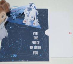 Lovepop LP2096 Star Wars Princess Leia Birthday Pop Up Card Cellophane Wrapped image 5