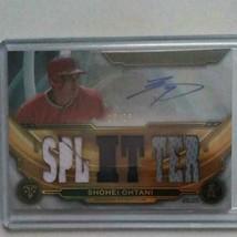 MLB card Shohei Otani autographed MLB 2019 Topps Triple Thread - $510.84