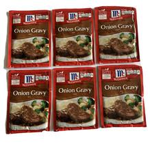 6 McCormick Onion Gravy Mix Spice Pocket 0.87 Oz Each Exp: 7/21 - $25.00