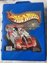 Vintage Mattel Hot Wheels 48 Car Carry Case 20020 Blue Box Tara W/48 Cars - $49.50