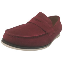 Alfani Mens Sawyer Slip-On Loafers Red 9.5 MSRP 79.99 New - $54.44