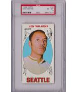 1969 Topps Len Wilkins #44 PSA 6 P623 - $25.08