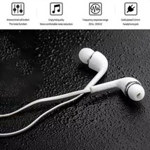 3.5mm Sony Apple Samsung Earphones Headset Mic Headphones LG iPhone Ipod... - $3.98
