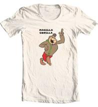 Magilla Gorilla T-shirt retro 80's Saturday morning cartoon cotton graphic tee image 1
