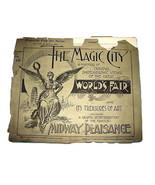 1893 Chicago Worlds Fair MAGIC CITY Photo Portfolio #16 - $24.98