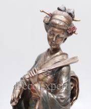 Geisha Figurine Kikuya - Veronese Samurai Deco * * * Free Shipping Everywhere   - $88.11