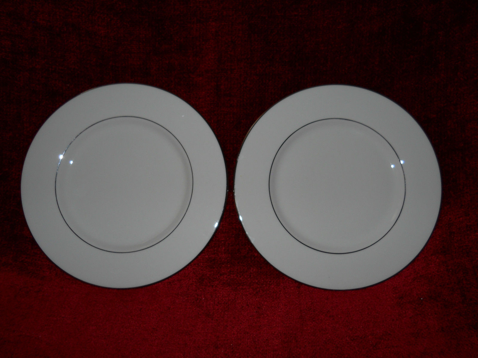 Primary image for Fine Arts Classic Dignity Platinum set of 2 dinner plates