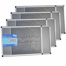 """Expandable Window Screen - Horizontal (20"""" H x 28"""" - 54"""" W), 4 Pack of L... - $110.19+"""