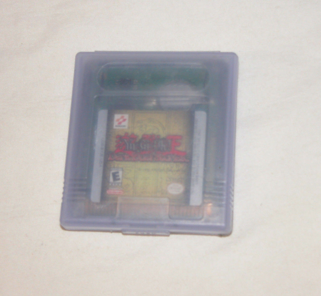 Yu-Gi-Oh Oscuro Doble Stories Nintendo Game Boy Color + Advanced Sistemas, 2002 image 4