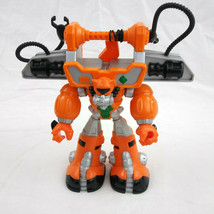 """Mattel Rescue Heroes Action Figure Diver Robot 2004 9"""" Tall #C7463 Jointed - $10.87"""